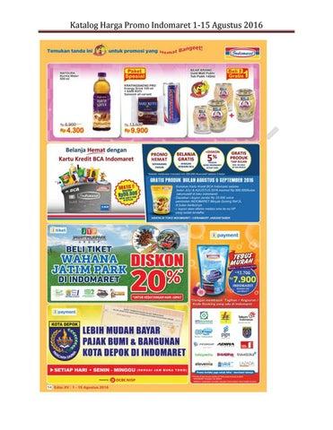 Katalog Promo Indomaret Super Hemat 1 15 Agustus 2016 By Sosoyir Issuu