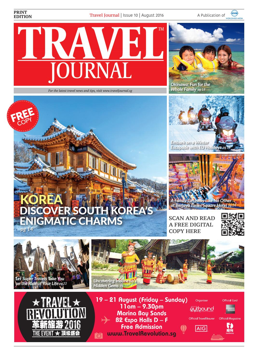 Travel Journal August 2016 By Wwmsg Issuu 8d 6n Memorable Korea Jeju Lotte World Tower