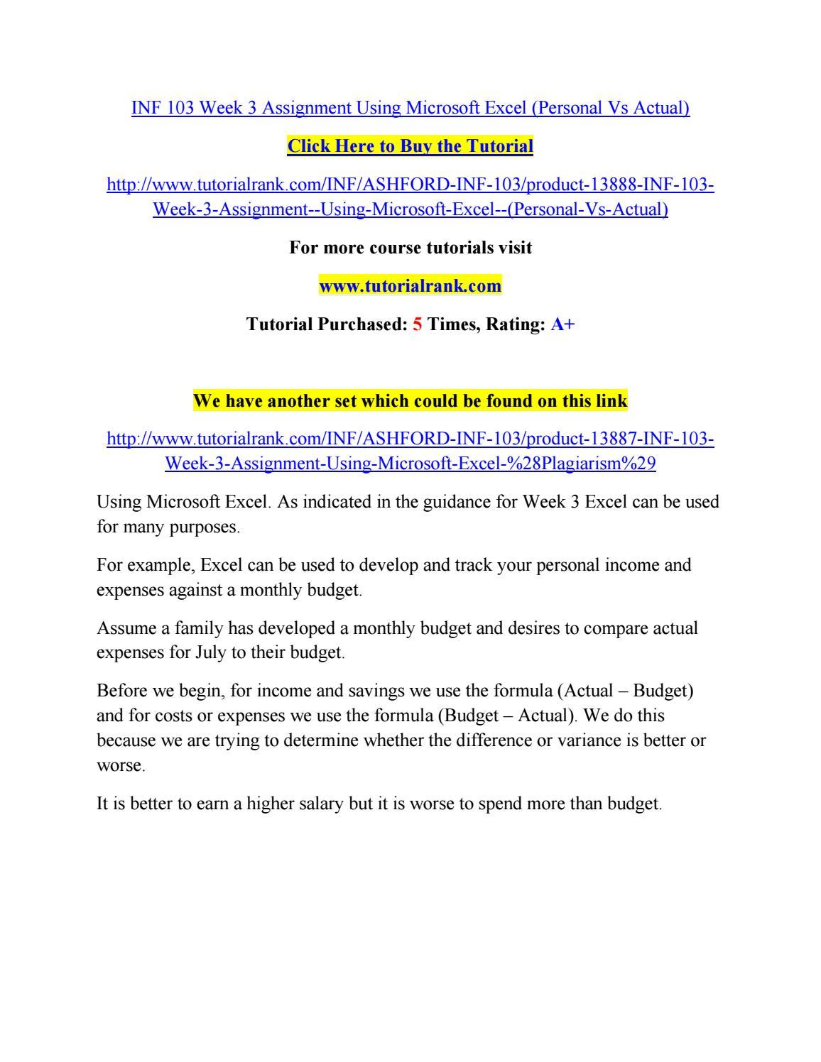 INFS1200 – Assignment 1, part 2