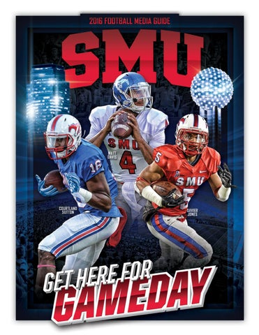 c6c1fd0e 2016 SMU Football Media Guide by SMU Athletics - issuu