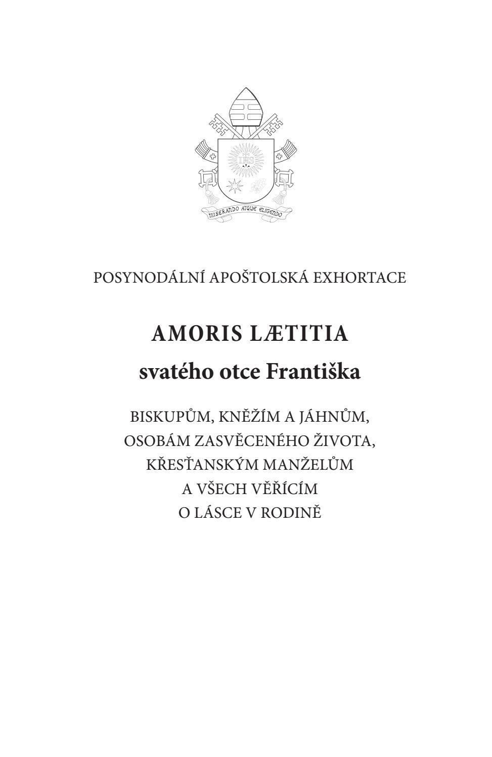 Amoris Laetitia Zusammenfassung