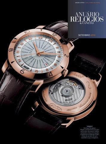 41946e84192 Anuário Relógios   Canetas - Setembro 2015 by Anuário Relógios ...