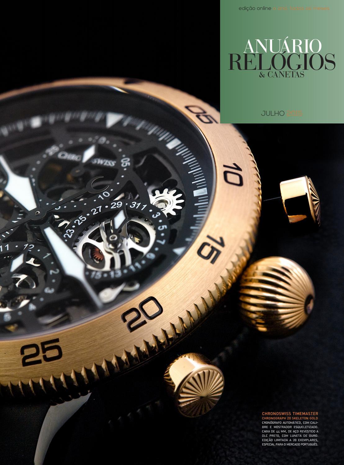 48b4cd3f86d Anuário Relógios   Canetas - Julho 2015 by Anuário Relógios   Canetas -  issuu