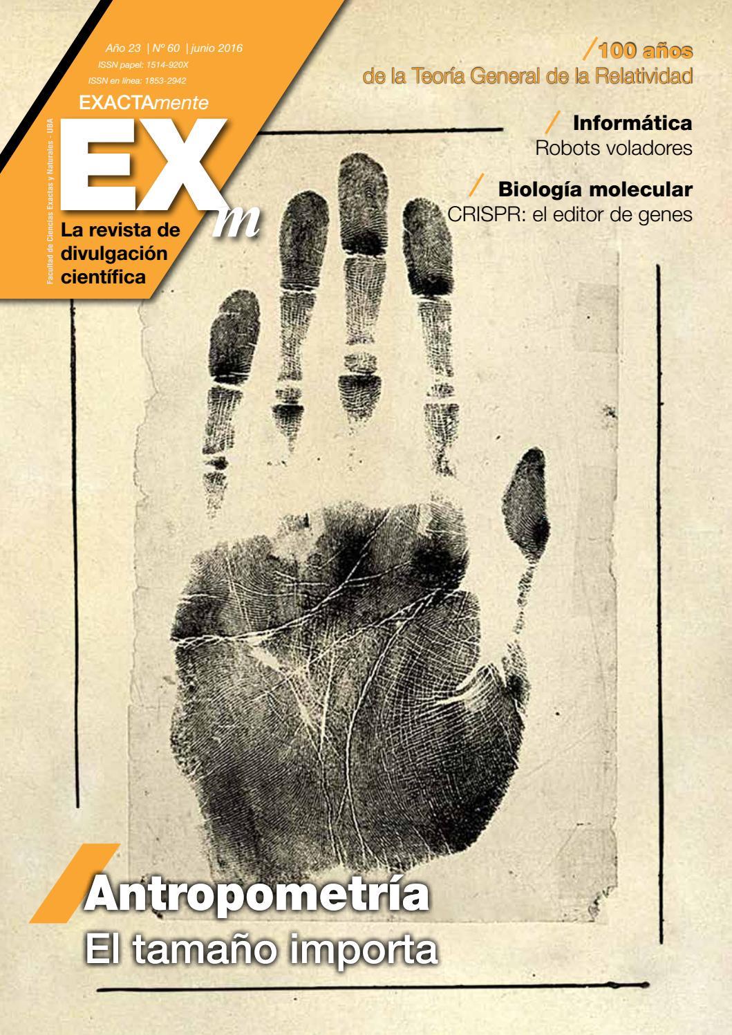 Revista EXACTAmente 60 by Exactas Comunicación - issuu