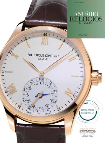 f0dc912aabb Anuário Relógios   Canetas - Março 2015 by Anuário Relógios ...