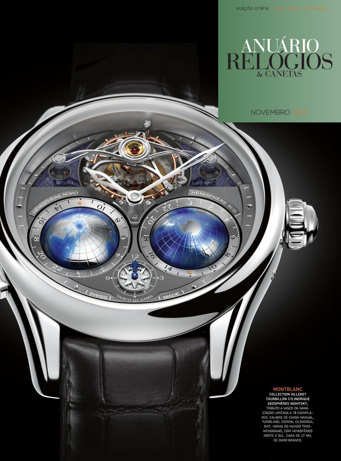 f0ae72db7be Anuário Relógios   Canetas - Novembro 2015 by Anuário Relógios   Canetas -  issuu