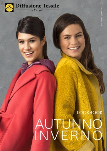 Lookbook AUTUNNO-INVERNO 2016. by diffusionetessile · Cover of