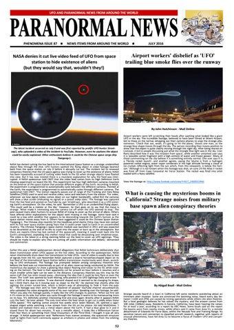 2ffe79221d60 Phenomena magazine july 2016 by Steve Mera - issuu