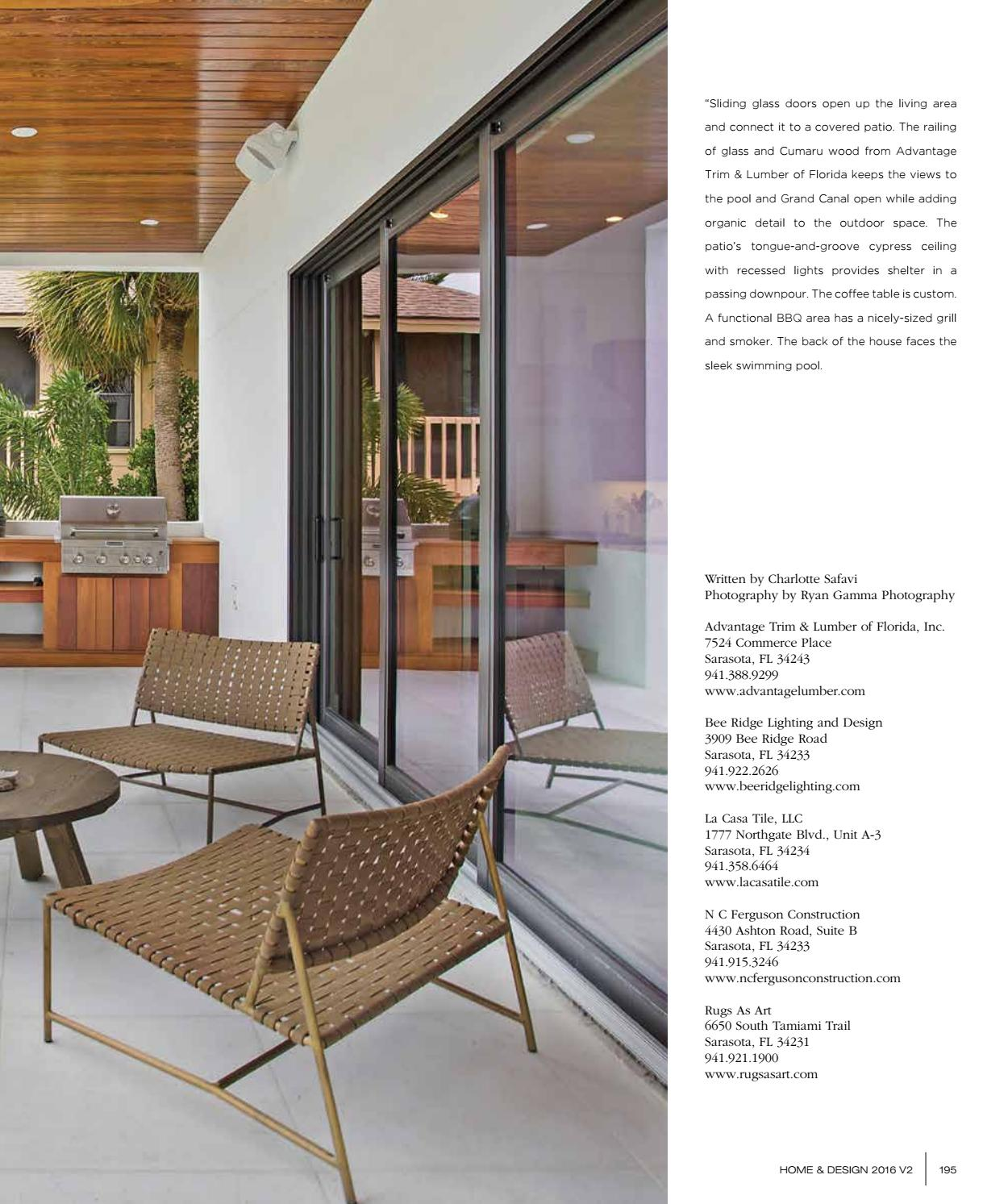 Home Design Magazine 2016 Suncoast Florida Edition By Jennifer
