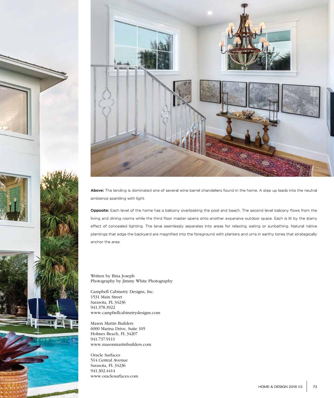 Home Design Magazine 2016 Suncoast Florida Edition By Anthony Spano Issuu