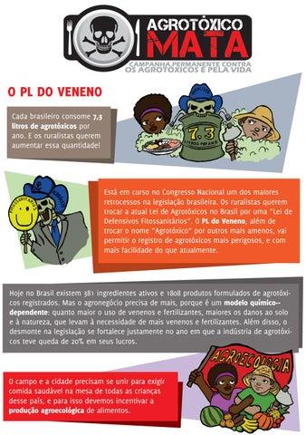 e01ea52b4 Panfleto: Campanha Permanente Contra os Agrotóxicos e Pela Vida-2016 ...