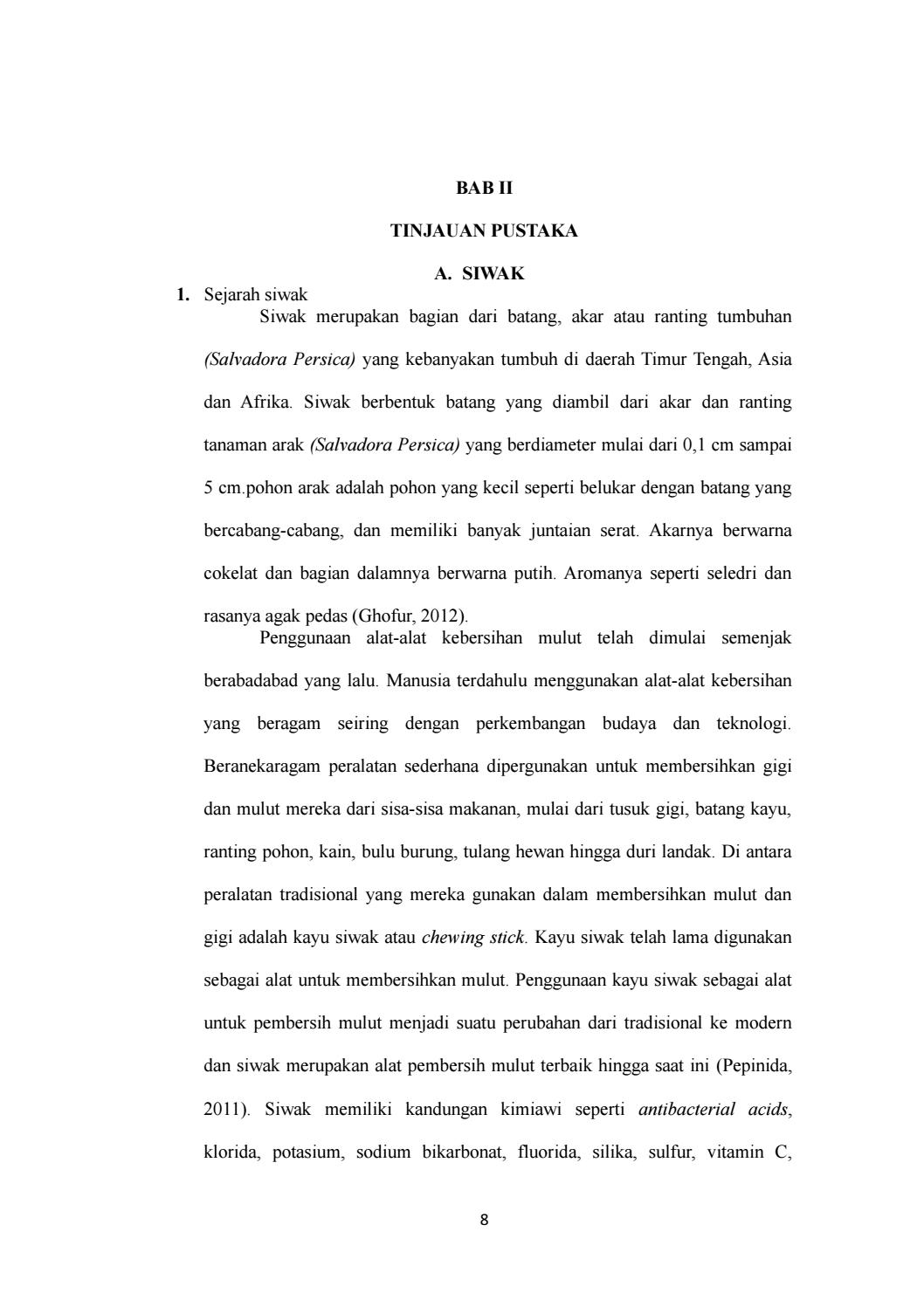 Bab 2 By Jupripringadi Issuu Siwak 5 Batang
