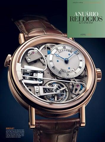 ad92e29ae52 Anuário Relógios   Canetas - Abril 2015 by Anuário Relógios ...