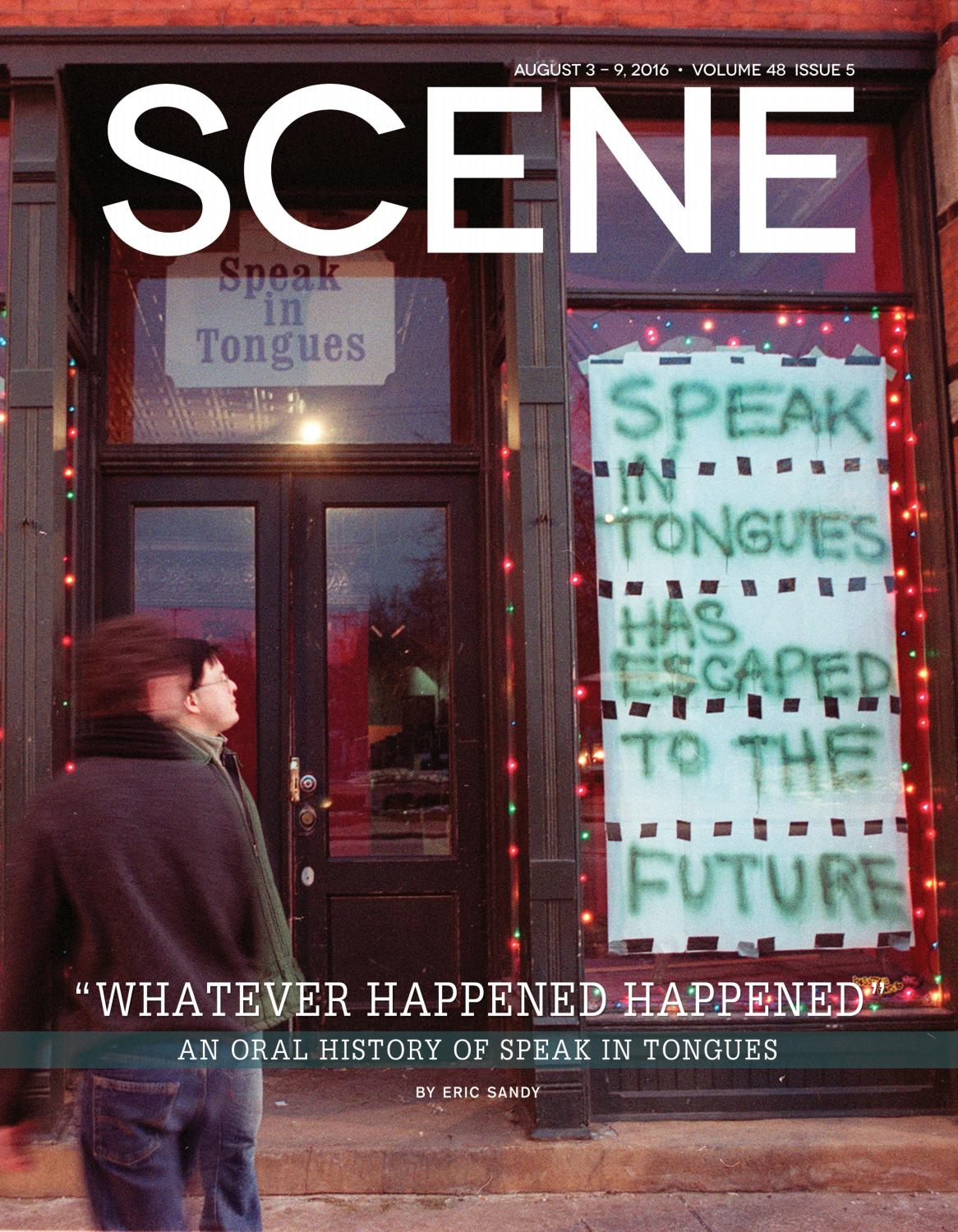 Scene august 3, 2016 by Euclid Media Group - issuu