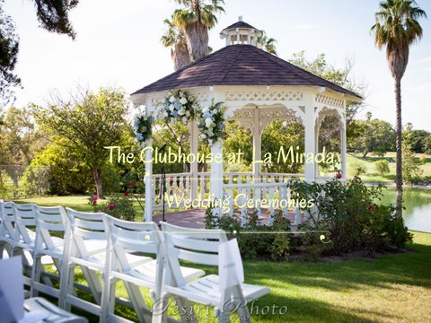 LMGC Wedding Ceremony Look Book by The Clubhouse at La Mirada Golf ...