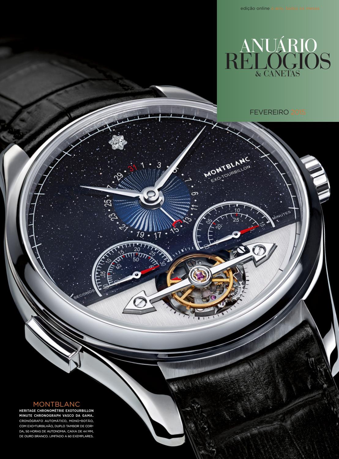 1ce1403b8a4 Anuário Relógios   Canetas - Fevereiro 2015 by Anuário Relógios   Canetas -  issuu