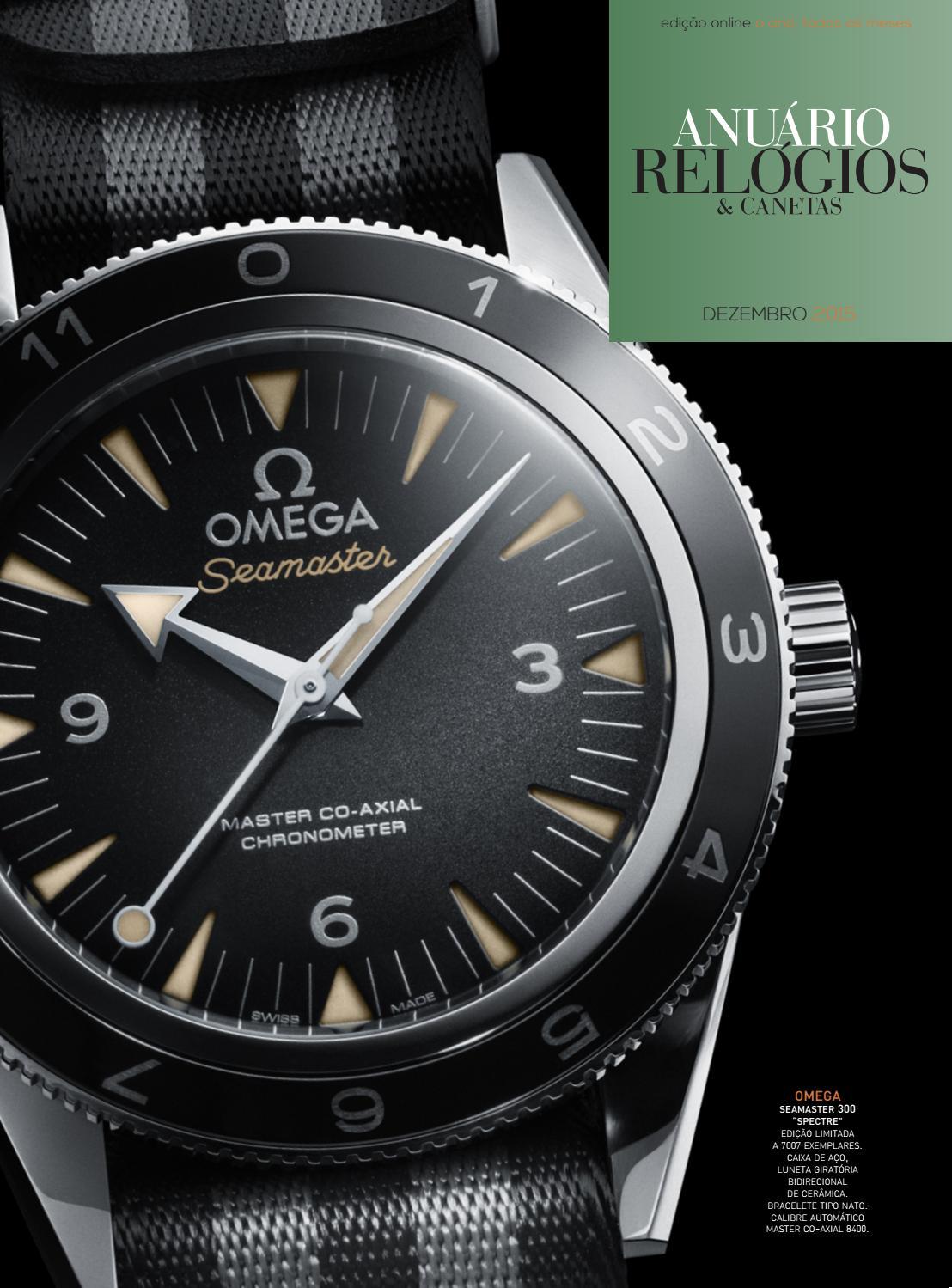 5ab6e0aab66 Anuário Relógios   Canetas - Dezembro 2015 by Anuário Relógios   Canetas -  issuu