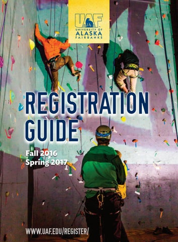 UAF Registration Guide 2016-2017