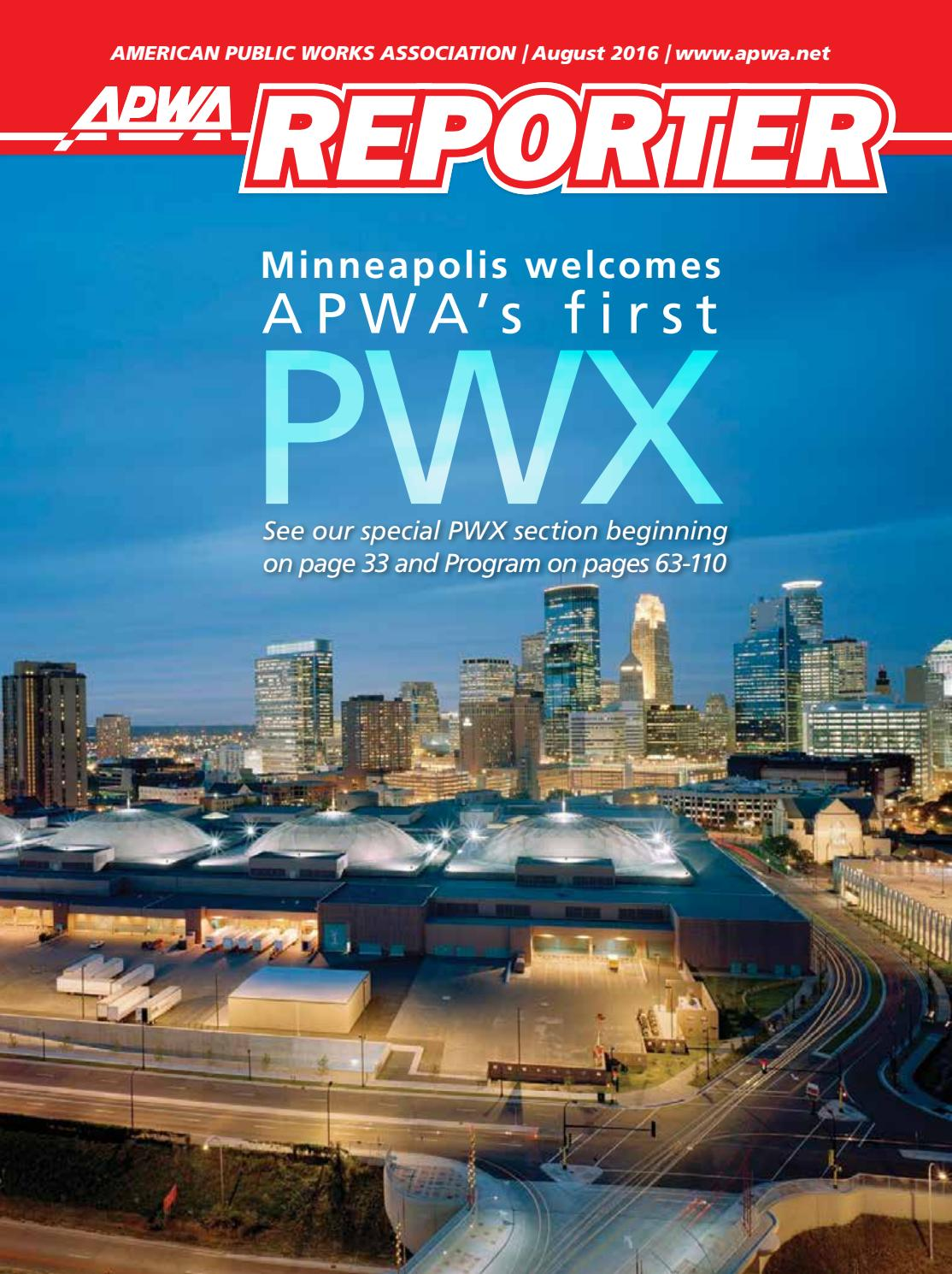 Apwa reporter august 2016 issue by american public works apwa reporter august 2016 issue by american public works association issuu kristyandbryce Images