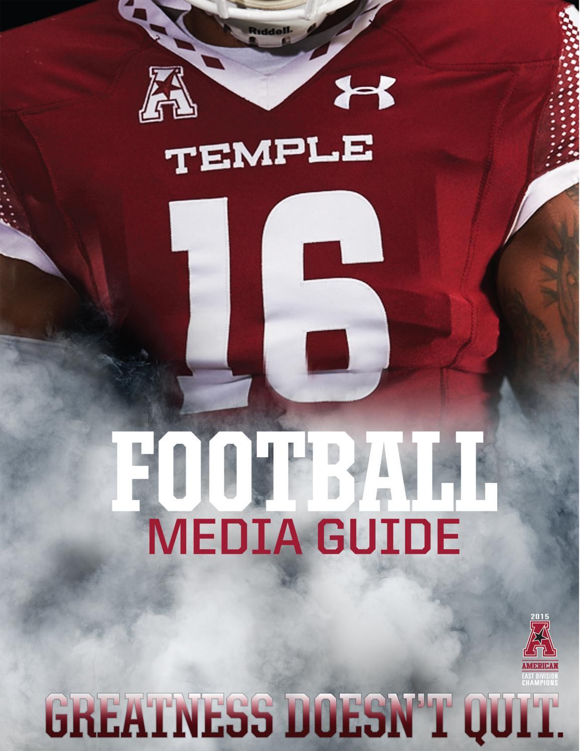 b4ab2ea22 2016 Temple Football Media Guide by Temple Athletics - issuu