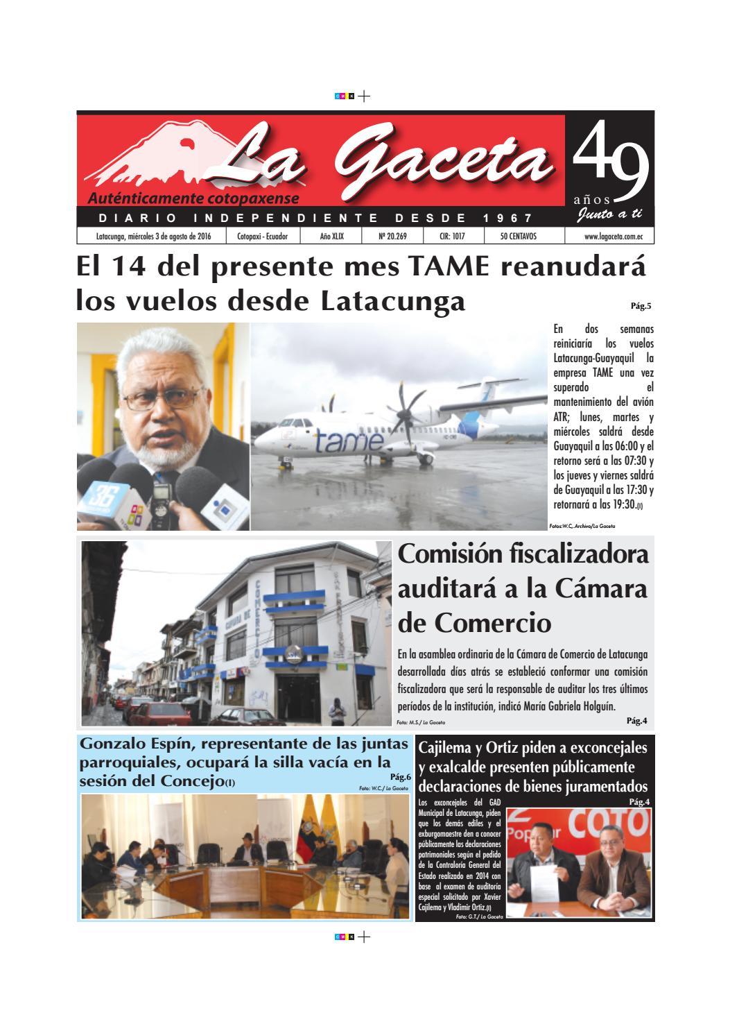 La Gaceta 3 agosto 2016 by Diario La Gaceta - issuu