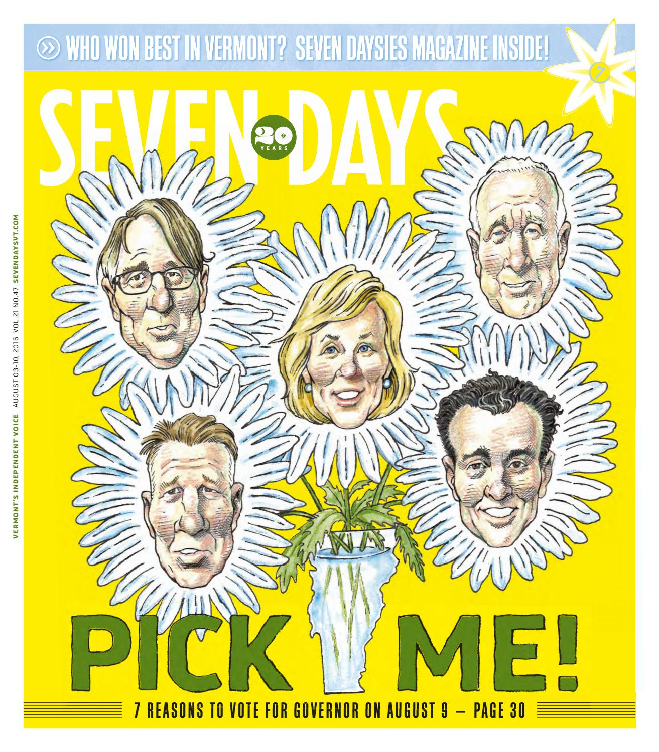 Seven Days, August 3, 2016 by Seven Days - issuu