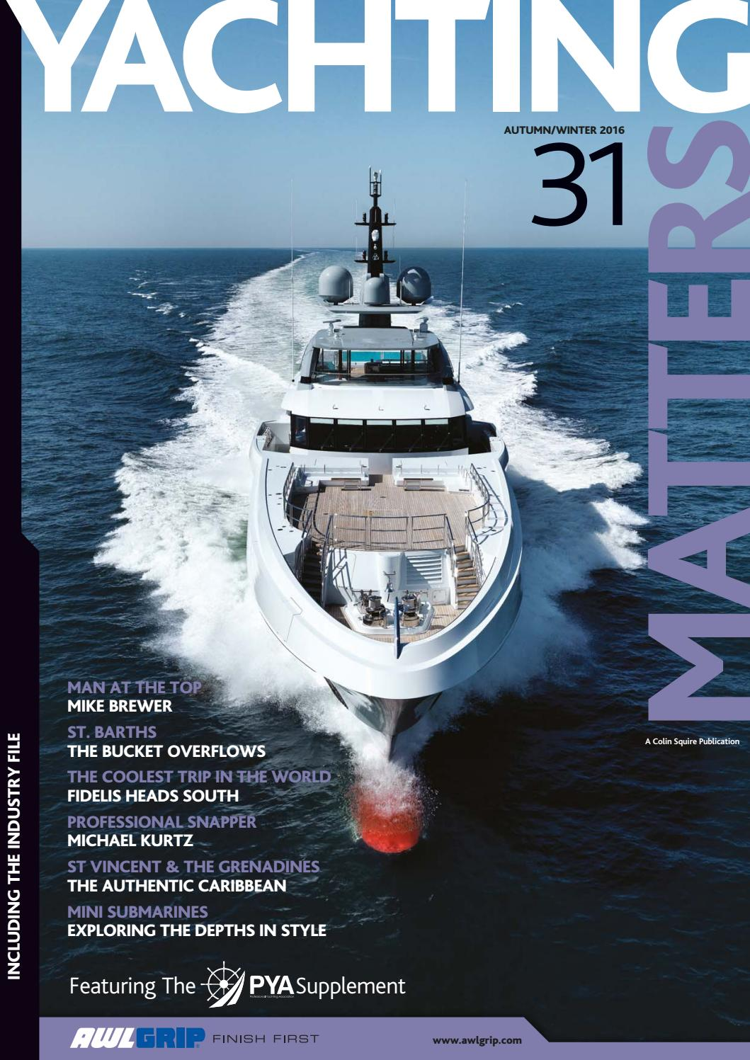 Yachting Matters 31 Autumn Winter 2016 By Issuu Century Ac Motor Wiring Diagram 115 230 Volts