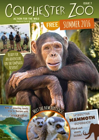 Colchester Zoo Magazine Summer 2016 by Colchester Zoo - issuu