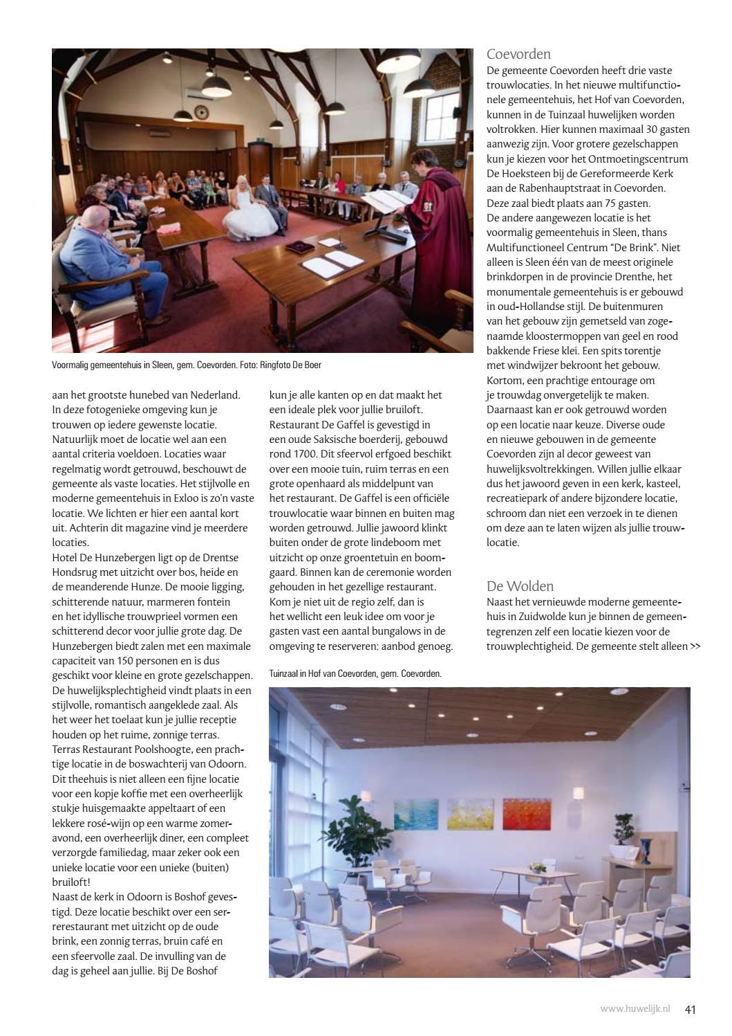 Huwelijk In Drenthe 2017 By Ward Media Issuu