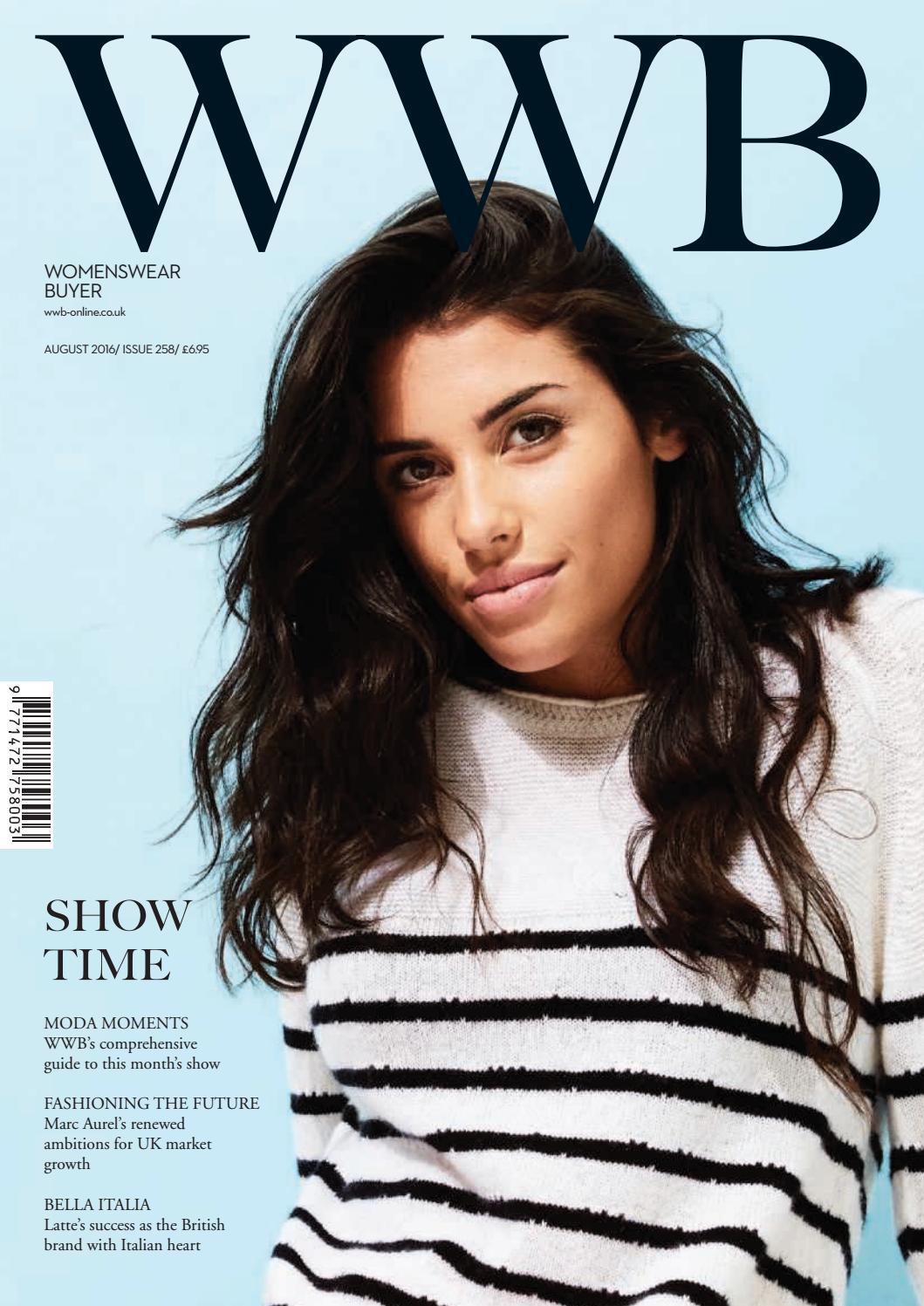 ab2ed5c6beb02 WWB MAGAZINE AUGUST ISSUE 258 by fashion buyers Ltd - issuu