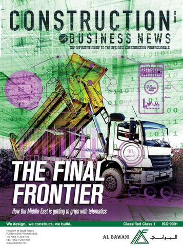 Construction Business News ME August 2016