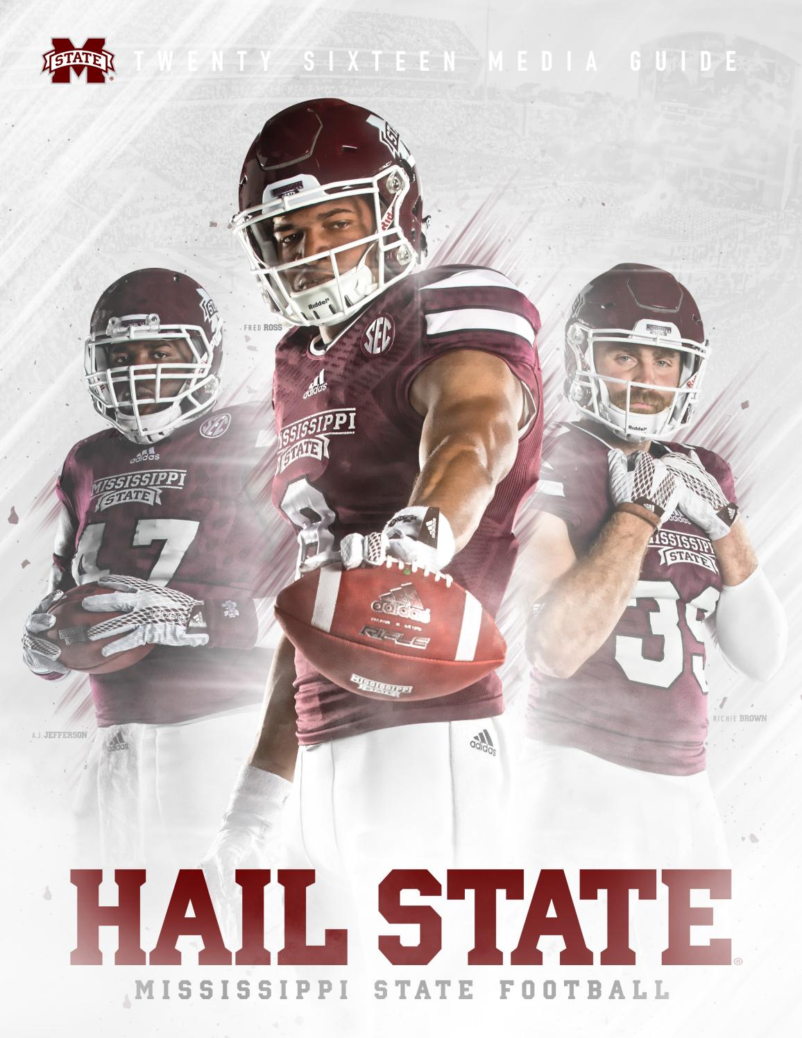 faa1dfc7374d2 2016 Mississippi State Football Media Guide by Mississippi State University  Athletics - issuu