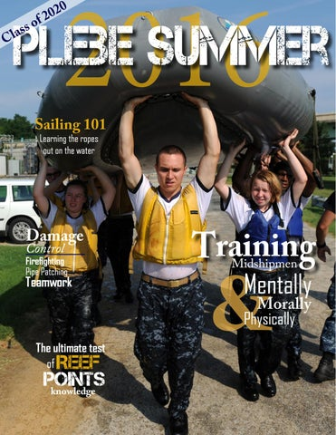 Plebe summer magazine by U S  Naval Academy - issuu