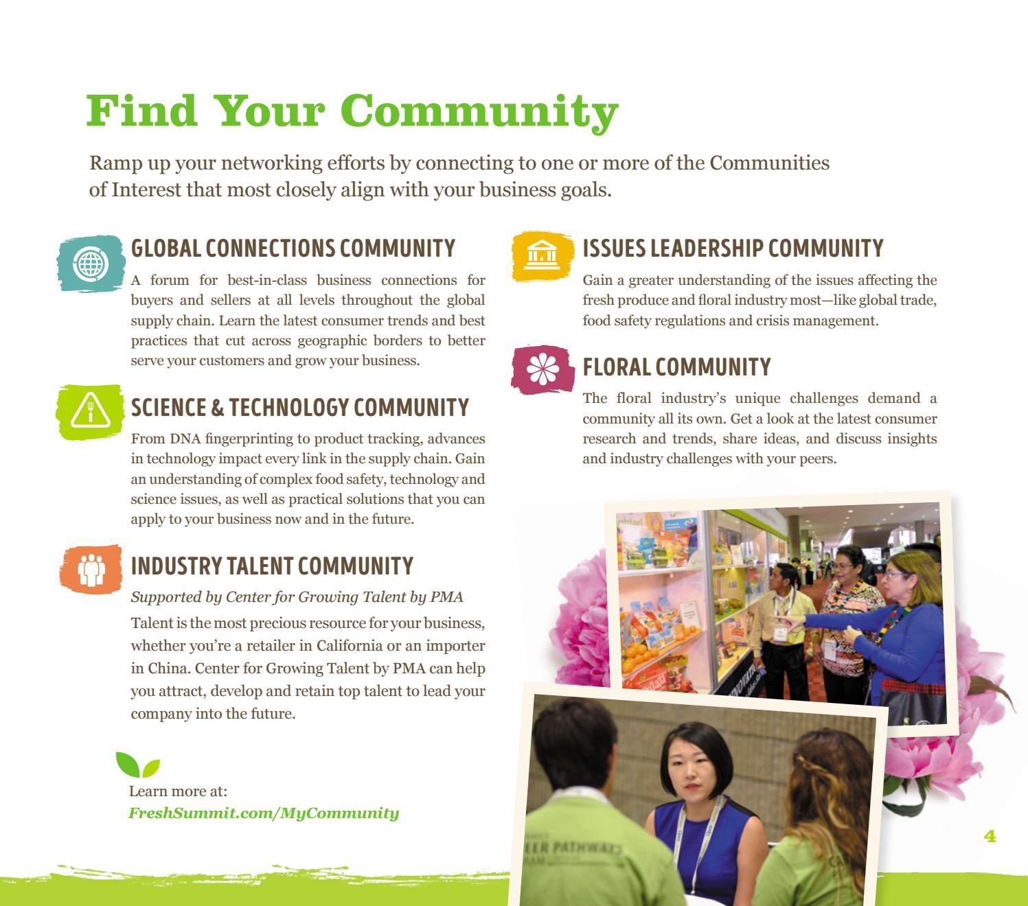 Fresh Summit brochure 2016 by Produce Marketing Association