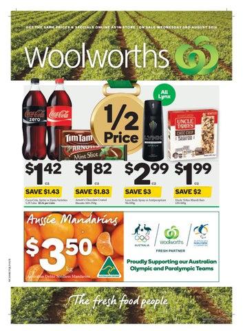 Qld Woolworths 03 08 16 09 08 16 By Hojunara Issuu