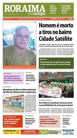 eaadebb53b8 Jornal roraima em tempo – edição 399 – período de visualização ...