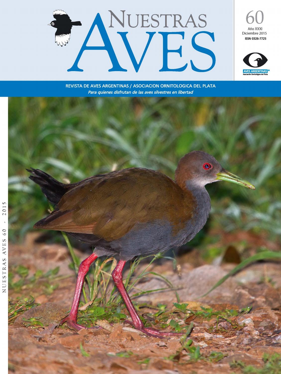 Revista nuestras aves n60 by Aves Argentinas - issuu