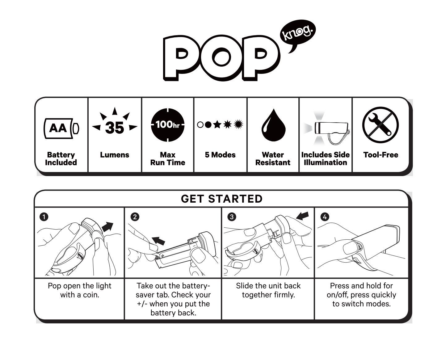 Pop i quickstart guide by Knog - issuu