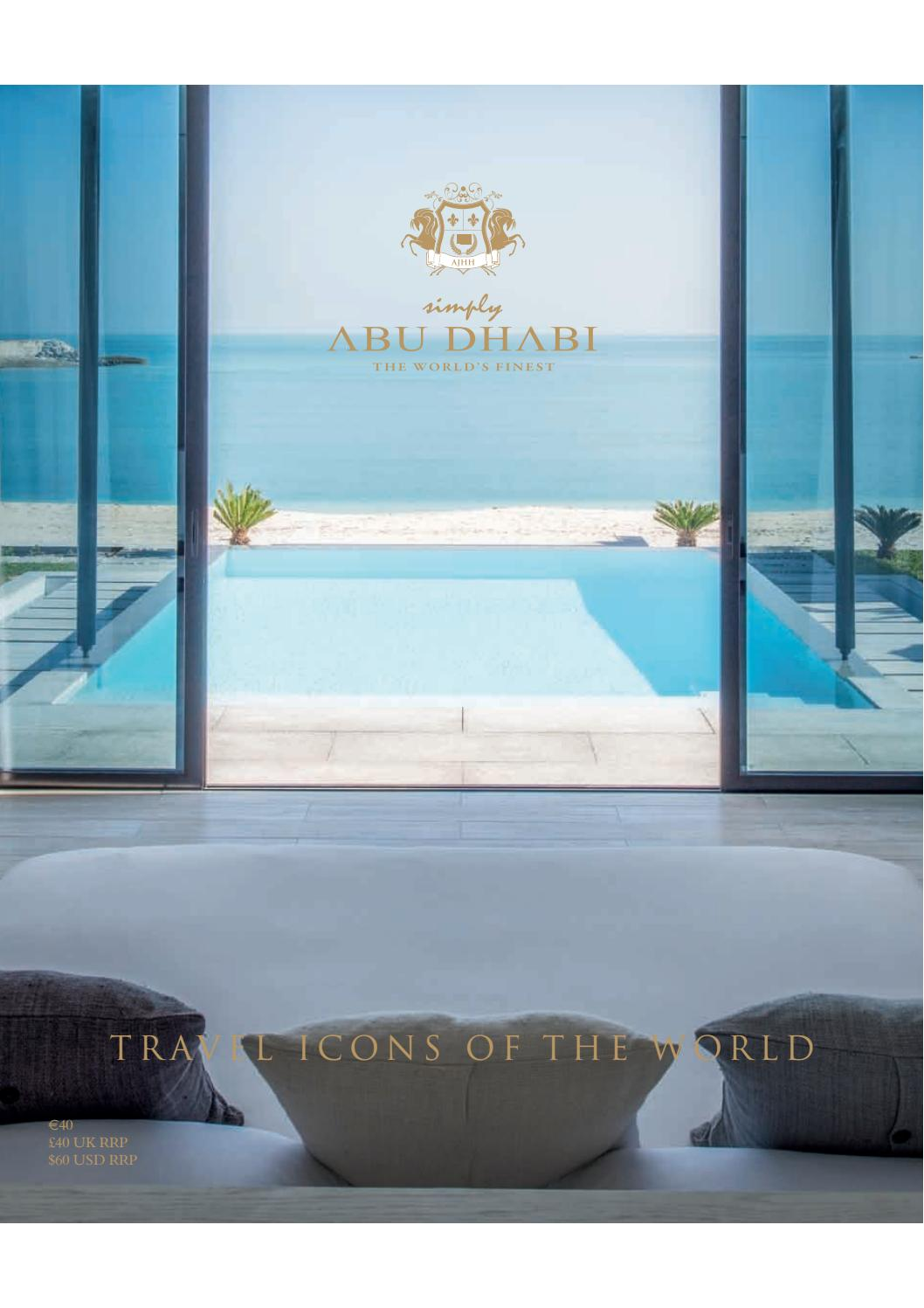 Simply Abu Dhabi Icons of The Luxury World by Arnie S Hira - issuu