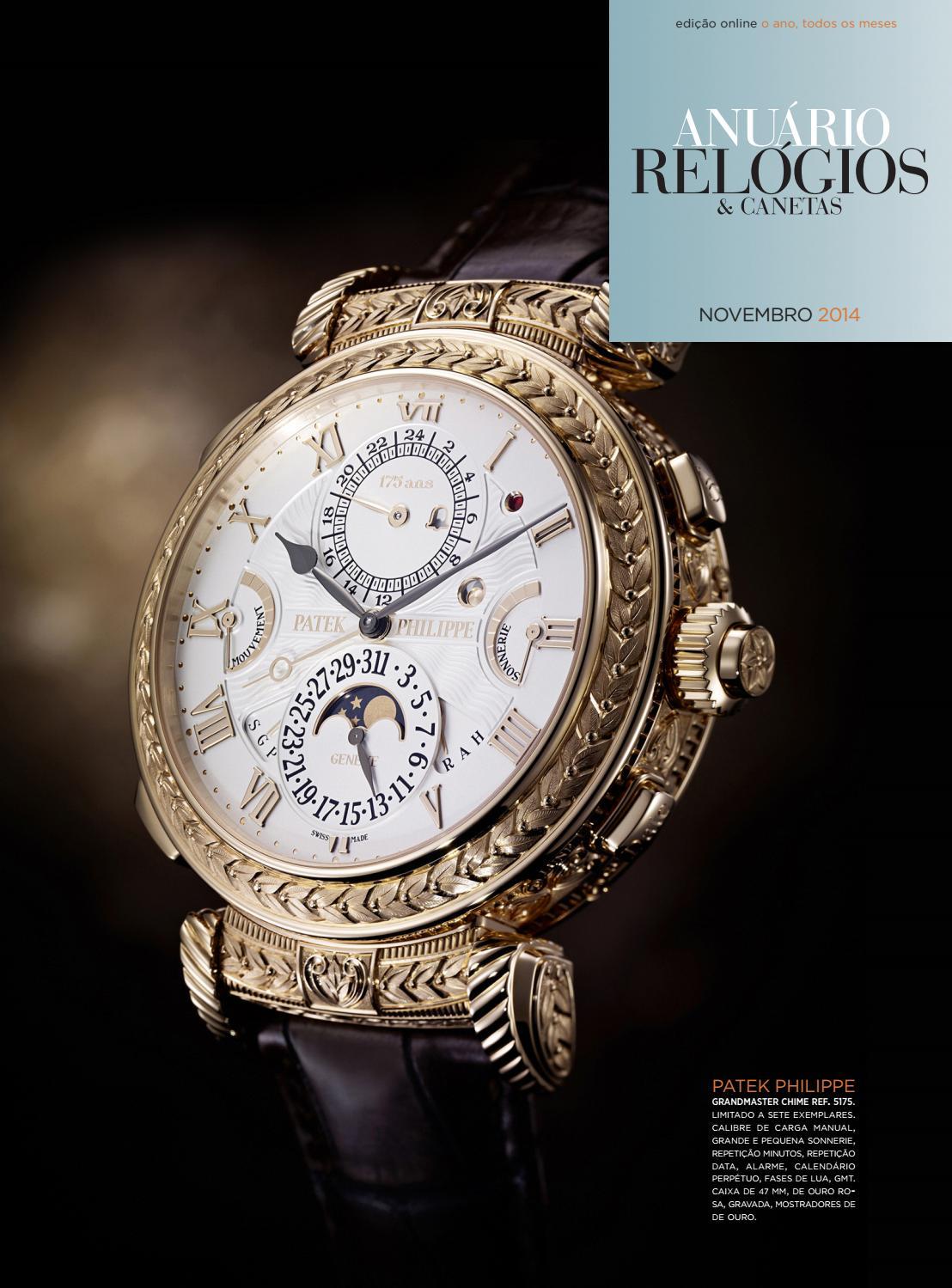 d1273b46a5a Anuário Relógios   Canetas - Novembro 2014 by Anuário Relógios   Canetas -  issuu