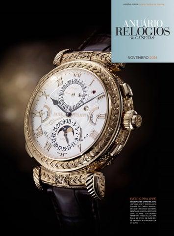 a37d264be19 Anuário Relógios   Canetas - Novembro 2014 by Anuário Relógios ...