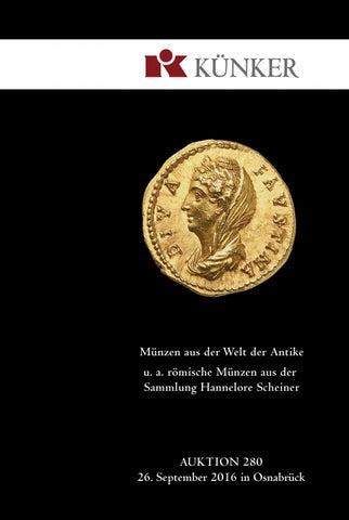 Künker Auktion 280 Münzen Aus Der Welt Der Antike By Fritz Rudolf