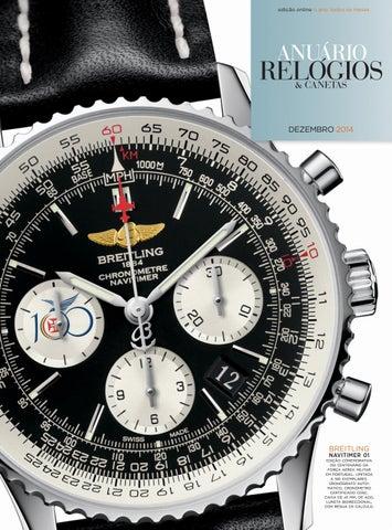 25f43a2e1a4 Anuário Relógios   Canetas - Dezembro 2014 by Anuário Relógios ...