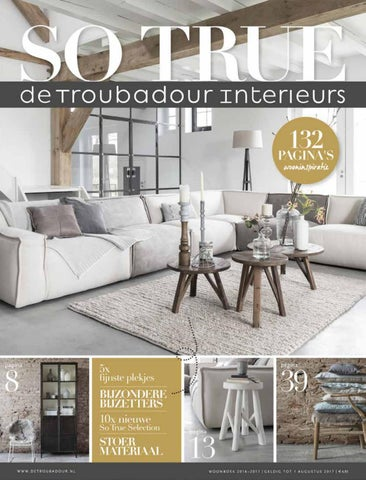 De Troubadour Interieurs Woonboek 2016/2017 by De Troubadour ...