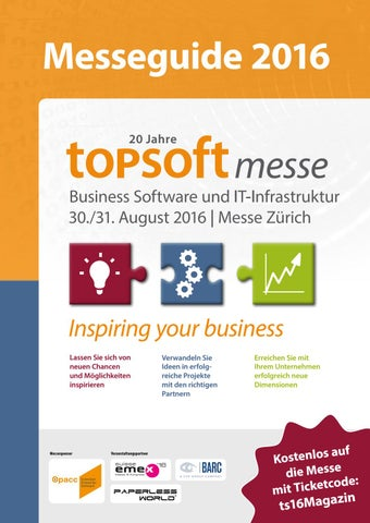 Topsoft Messeguide 2016 By Topsoft Issuu