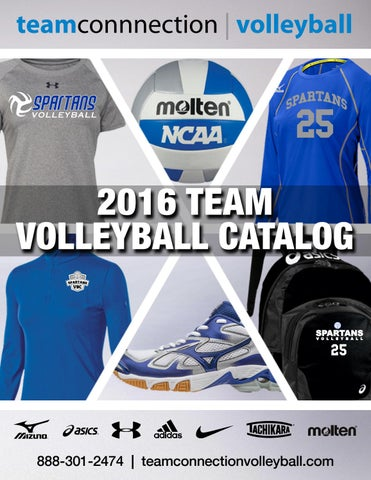 5598dcc8177 2016 fall volleyball catalog final by Team Connection - issuu