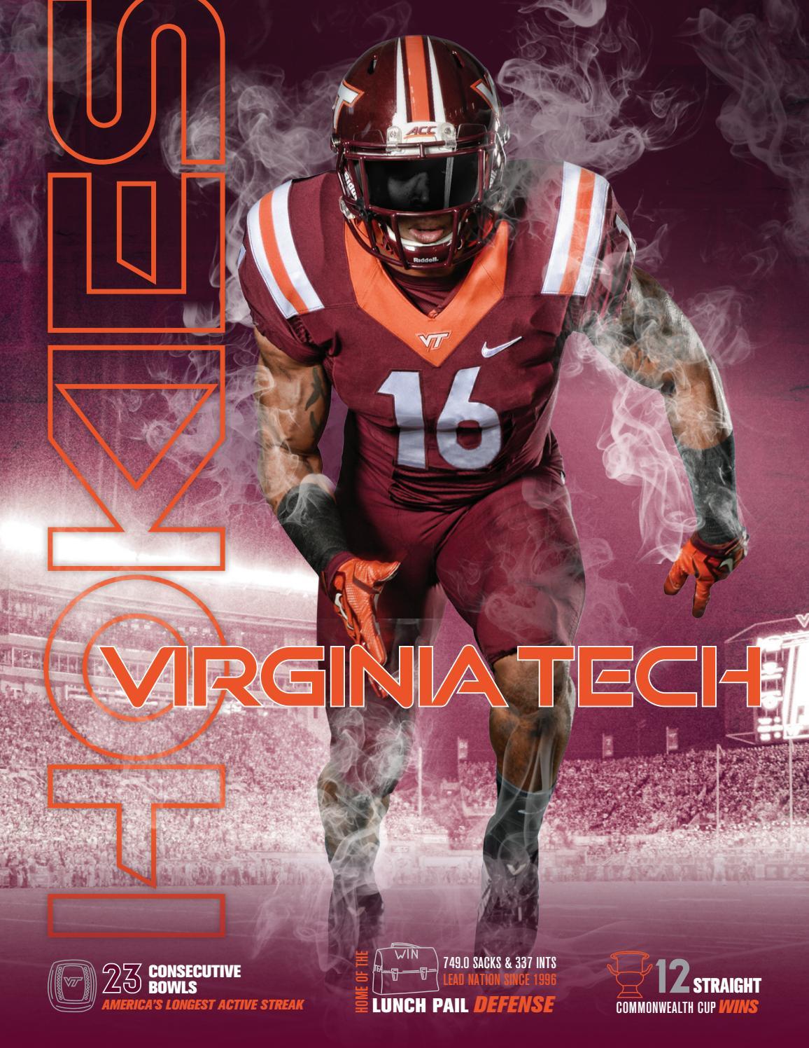 2016 Virginia Tech Football Media Guide By Virginia Tech Athletics Issuu