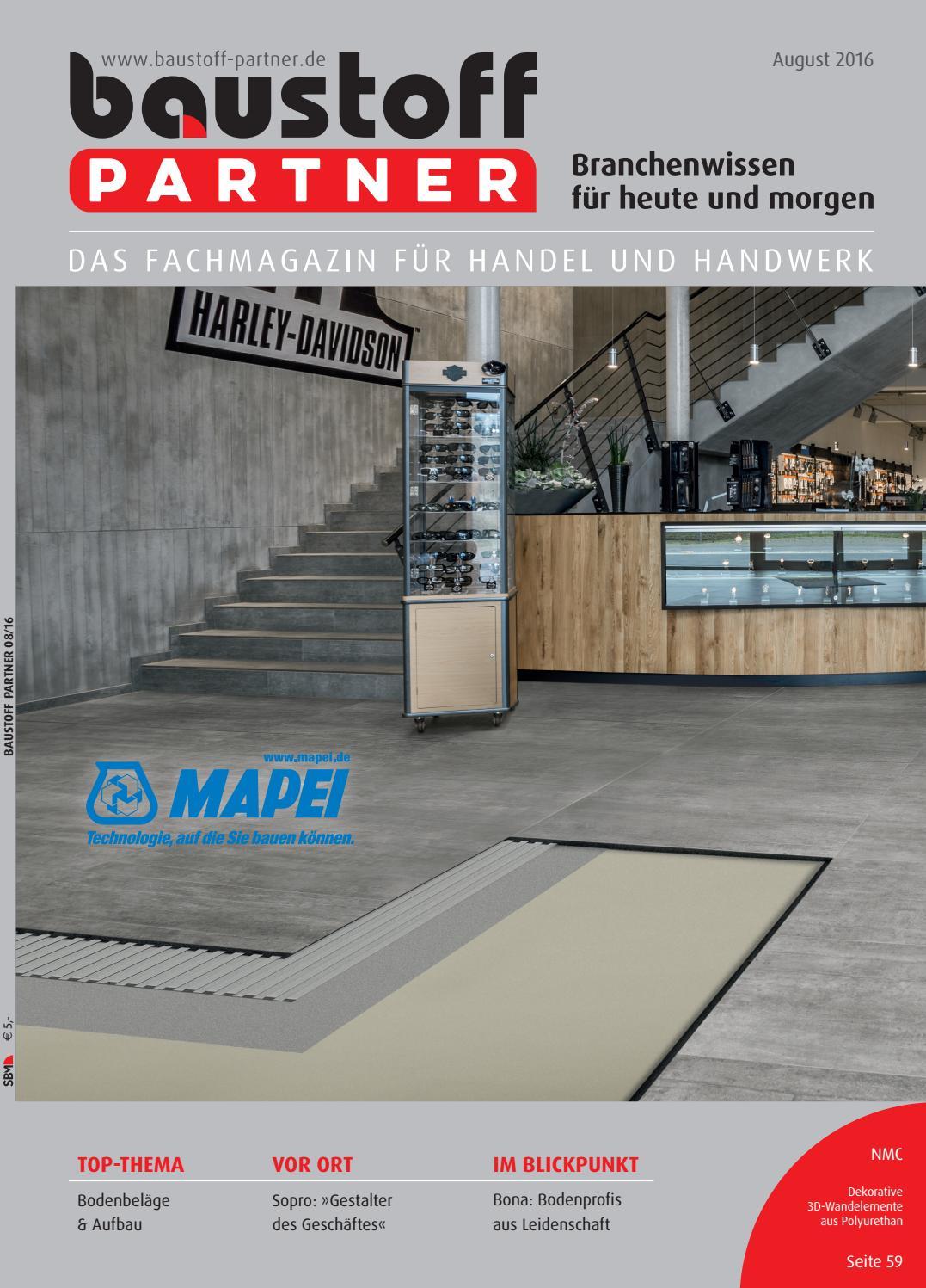 Baustoff Partner August 20 by SBM Verlag GmbH   issuu