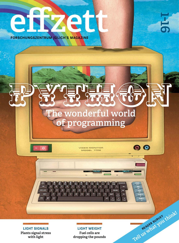 PYTHON - The wonderful world of programming by Forschungszentrum