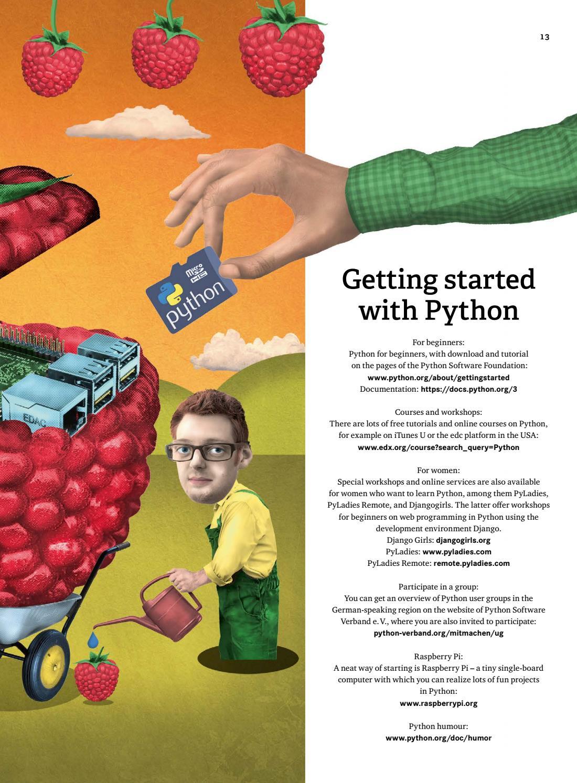 PYTHON - The wonderful world of programming by